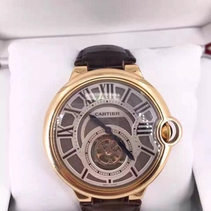 Cartier 卡地亚蓝气球陀飞轮玫瑰金腕表