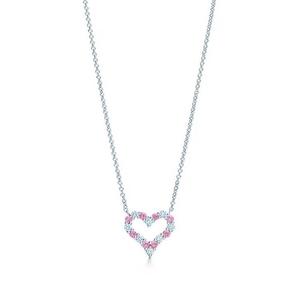 Tiffany & Co. 蒂芙尼爆款铂金宝石项链