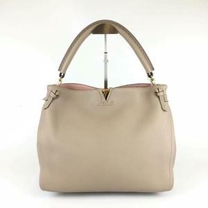 Louis Vuitton 路易·威登浅杏灰tournon小牛皮手提包