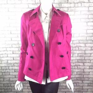 Burberry 博柏利红色短款全棉外套