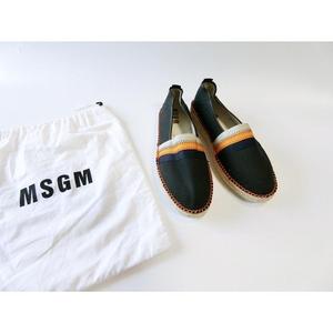 断码,MSGM男士渔夫鞋