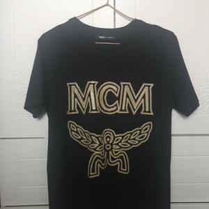 MCM时尚印花短袖T恤上衣