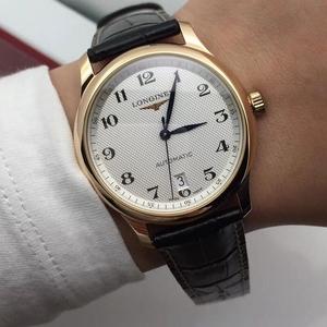 LONGINES 浪琴名匠玫瑰金男士机械表腕表