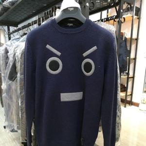 FENDI 芬迪蓝色小怪兽上衣