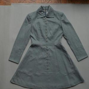 Dior 迪奥纯羊毛长袖连衣裙