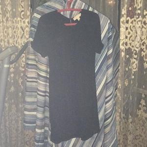 Michael kors 迈克.科尔斯褶皱条纹连衣裙