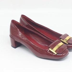 Louis Vuitton 漆皮中跟女鞋