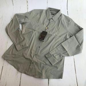 GUCCI 古驰男士灰色衬衫