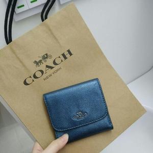 COACH 蔻驰短款三折钱包