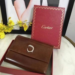 Cartier 卡地亚豹子头钱包