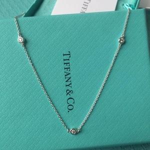 Tiffany & Co. 蒂芙尼钻石项链
