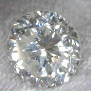 钻石  GIA 裸鑽。I色 VS2 0.46ct  老式車工