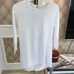 Y3  Y3女式白色中袖衫