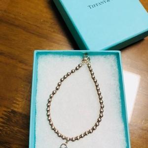 Tiffany & Co. 蒂芙尼蓝色心形手链