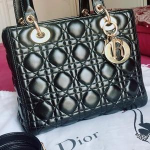 Dior 迪奥小羊皮五格手提包