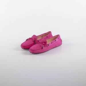 TOD'S 托德斯经典玫红色豆豆鞋
