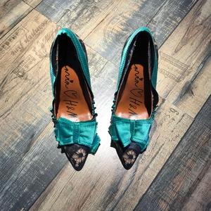 LANVIN 朗雯37码女高跟鞋