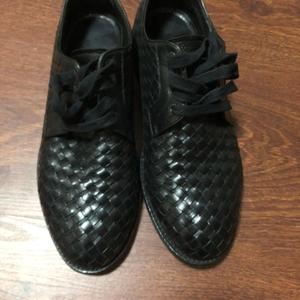 Bottega Veneta 葆蝶家全皮编制皮鞋