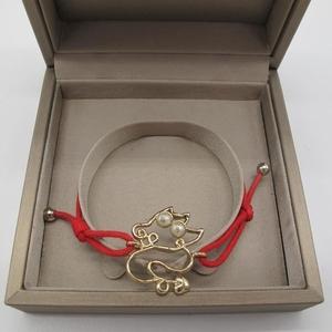 Dior 迪奥红绳手链