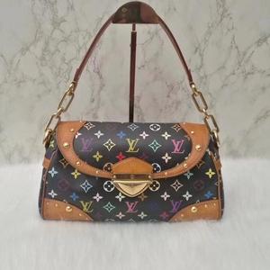 Louis Vuitton 路易·威登黑三彩单肩包