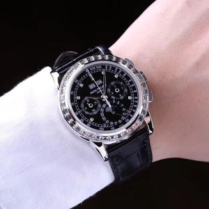 PATEK PHILIPPE 百达翡丽超级复杂功能计时机械腕表