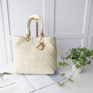 Dior 迪奥菱格戴妃包手提包
