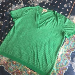 Hermès 爱马仕男士针织短袖T恤