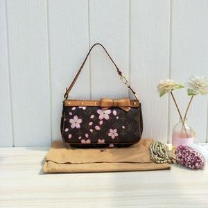 Louis Vuitton 路易·威登樱花麻将单肩包