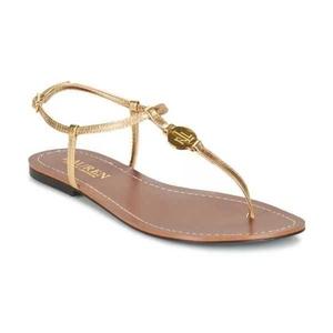 Ralph Lauren 拉尔夫·劳伦夹脚平底凉鞋