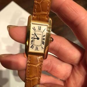 Cartier 卡地亚坦克石英腕表