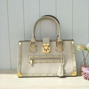 Louis Vuitton 路易·威登苏哈里山羊皮金扣手提包