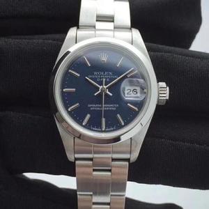 Rolex 劳力士日志型女自动机械69160蓝盘腕表