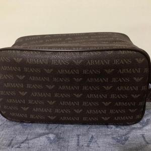 Armani Jeans 阿玛尼男款方盒子母手拿包