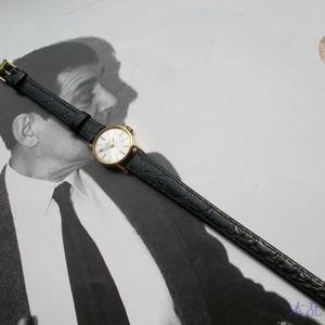 LONGINES 18K黄金女士手动机械手表