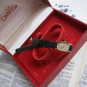 OMEGA 欧米茄18K黄金女士手动机械手表