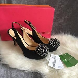 Kate Spade 凯特·丝蓓水晶鞋高跟鞋