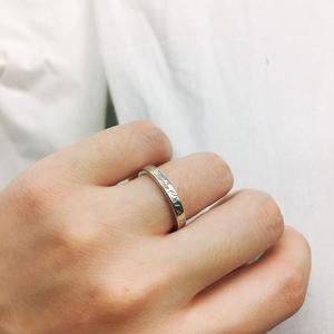 Tiffany & Co. 蒂芙尼经典纽约第五大道纯银戒指