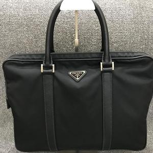 PRADA 普拉达男式帆布手提包