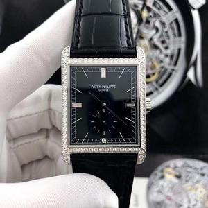 PATEK PHILIPPE 百达翡丽18K白金机械腕表