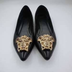Versace 范思哲美杜莎头像平跟鞋