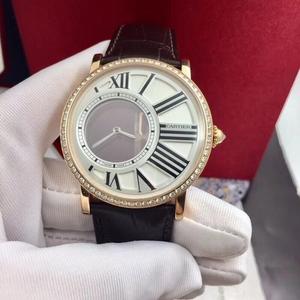 Cartier 卡地亚伦敦系列神秘时间HPI00635机械表