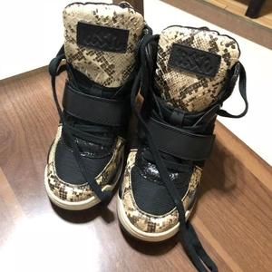ASH Shoes 艾熙蛇皮纹内增高休闲鞋