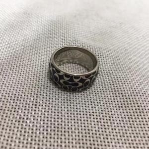 COACH 蔻驰经典logo戒指指环