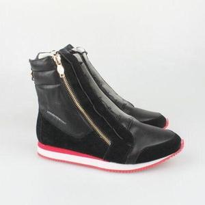 ASH Shoes 艾熙女士全皮侧拉链靴子