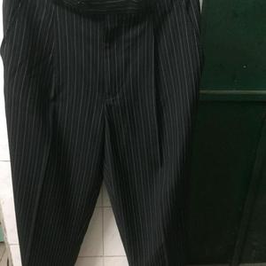 Alfred Dunhill 登喜路时装时尚立体剪裁休闲西裤30码