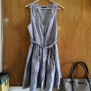 ARMANI 阿玛尼水洗棉连衣裙