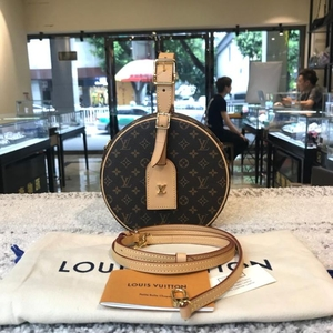 Louis Vuitton 路易·威登老花圆饼包
