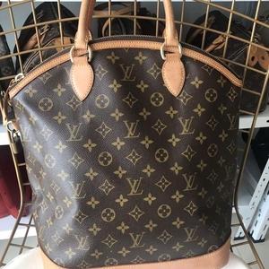 Louis Vuitton 路易·威登大号lock手提包