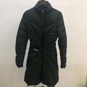 Versace 范思哲黑色长款羽绒服
