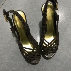 Ralph Lauren 拉尔夫·劳伦编织凉鞋高端36码